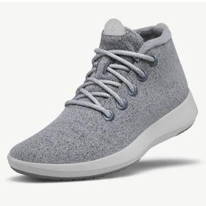 Allbirds Wool Mizzle high top grey&cream shoes 6